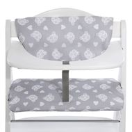Deluxe High Chair Rest - Teddy Grey