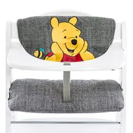 High chair mattress & seat reducer - Disney Deluxe - Winnie Pooh Grey