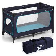 Hauck Reisebett Dream'n Play Plus - Navy Aqua