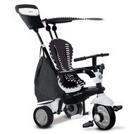 Smart Trike Dreirad Glow 4 in 1 mit Touch Steering - Black & White