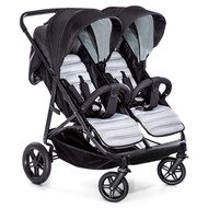 Hauck Geschwisterbuggy & Zwillingsbuggy Rapid 3R Duo - Silver Charcoal