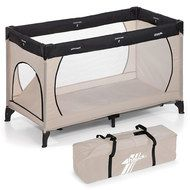 Hauck Reisebett Dream'n Play Plus - Beige Grey
