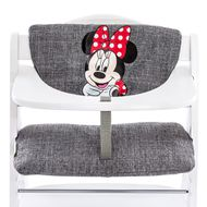 Highchair cushion & seat reducer - Disney Deluxe - Minnie Grey