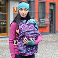 manduca Cover Cold Weather - Boho Print