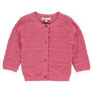 Noppies Strickjacke Poinciana - Rosa - Gr. 56