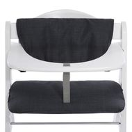 Deluxe high chair rest - Melange Charcoal