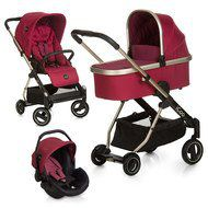 iCoo Kinderwagen-Set Acrobat XL Plus Trioset - Diamond Ruby