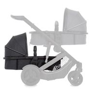 Second baby bath for sibling carriage Duett 3 - Melange Charcoal