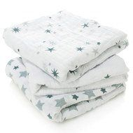 aden + anais Mullwindel 3er Pack Classic Musy 70 x 70 cm - Twinkle