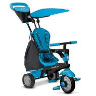 Smart Trike Dreirad Glow 4 in 1 mit Touch Steering - Blue