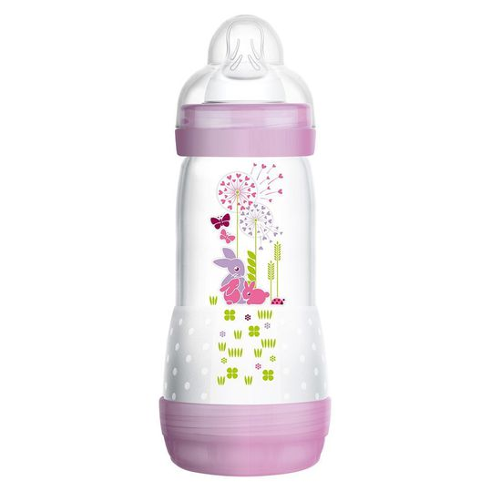 PP bottle Easy Start anti-colic 320 ml - silicone size 2 - for girls