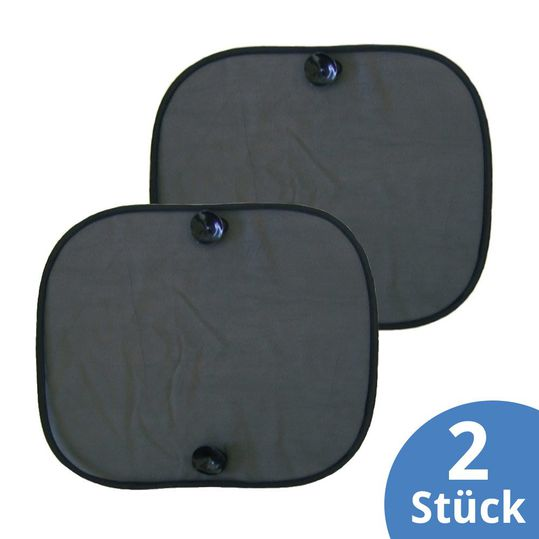 Sun protection universal pack of 2 - black