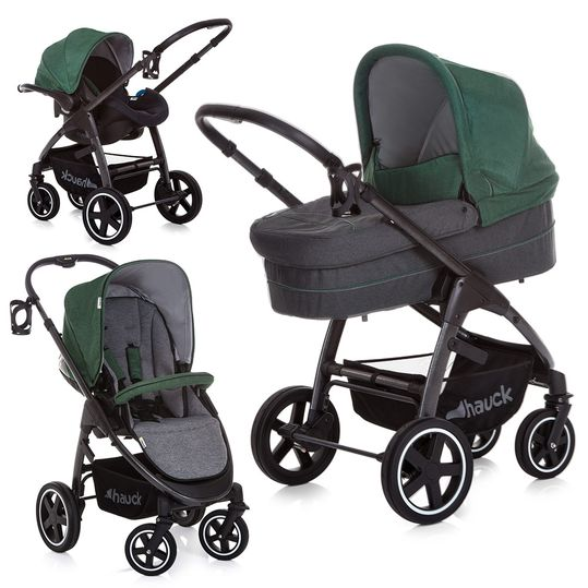 Kinderwagen-Set Soul Plus Trio Set - Emerald