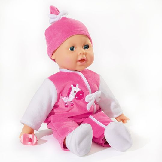 Doll Laura with functions baby language 38 cm