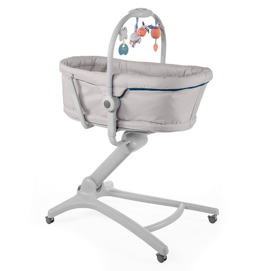 High chair, bassinet and baby couch Baby Hug 4 in 1 - Glacial