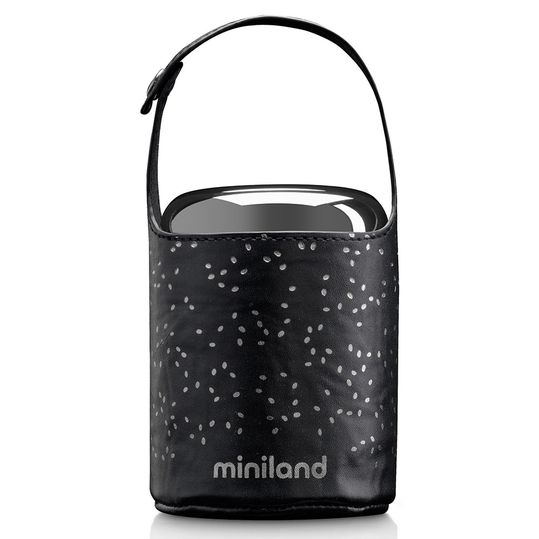 Edelstahl-Isolierbox inkl. Isoliertasche Food Thermos Mini Deluxe 280 ml - Silver