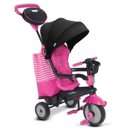 Dreirad Swing DLX - 4 in 1 mit Touch Steering - Pink