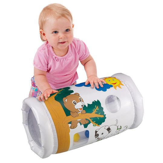 Crawling roll with bell balls