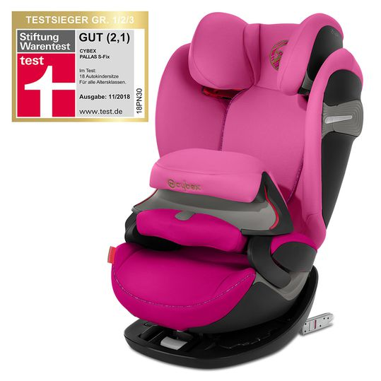 Kindersitz Pallas S-Fix - Fancy Pink Purple