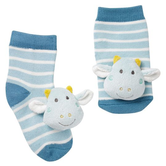 Rattle Socks Dragon - Little Castle - Gr. 0 - 12 months
