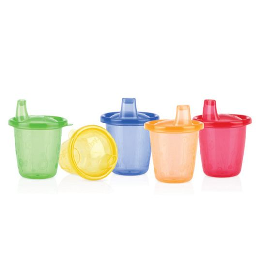 Drinking cup 6er Pack Pick Nick 180 ml - Colourful