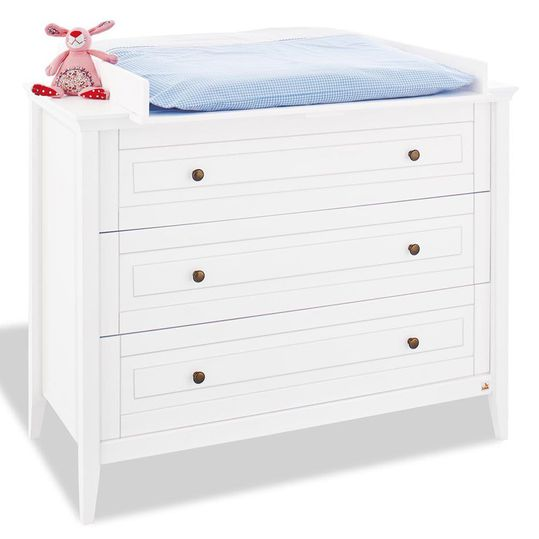 Changing table Smilla - solid pine