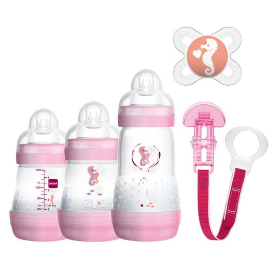5-piece starter set Welcome to the World - Pink