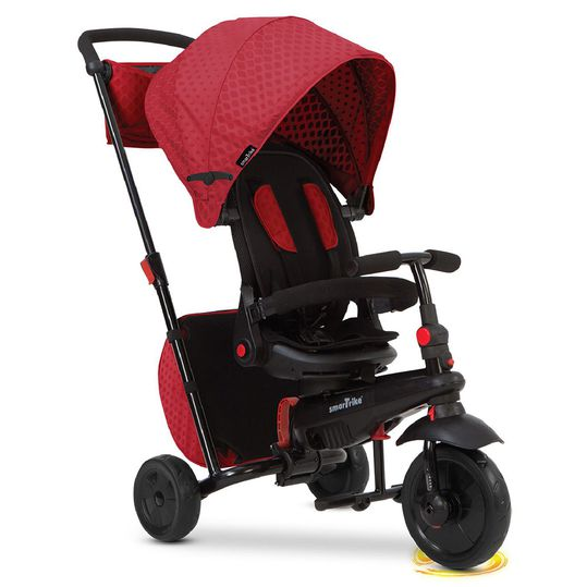 Tricycle smarTfold 700 - 8 in 1 with Touch Steering - Red