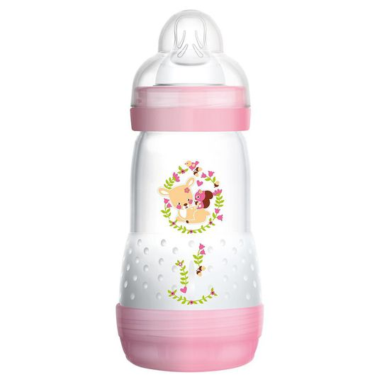 PP bottle Easy Start anti-colic 260 ml - silicone 1 hole - for girls