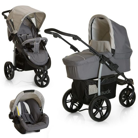 Stroller Set Viper SLX Trio Set - Smoke Grey