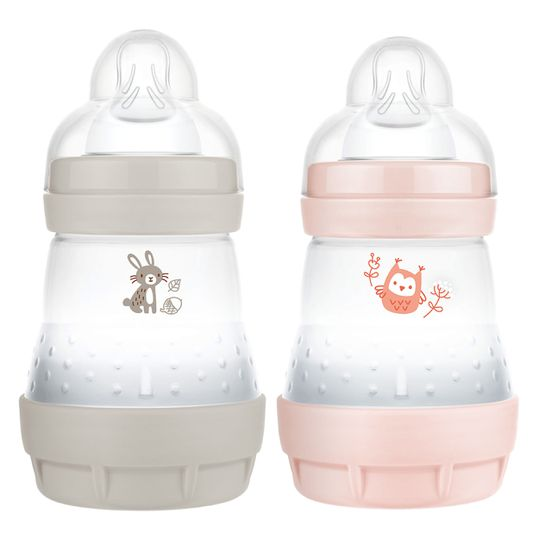 PP-Flasche 2er Pack Easy Start Anti-Colic Elements 160 ml - Hase & Eule