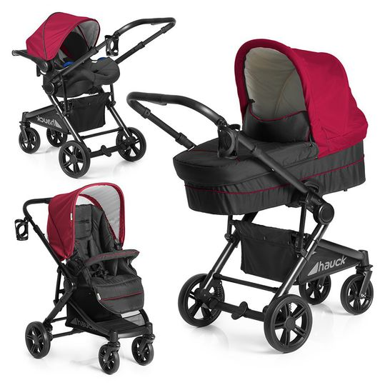 Kinderwagen-Set Atlantic Plus Trio Set - Tango