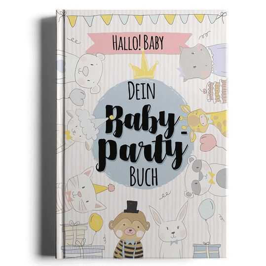 Babypartybuch - Hallo Baby