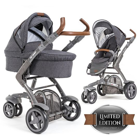 Combi pushchair 3-Tec incl. carrycot - Style Edition - Street