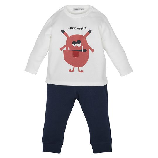 Set - Shirt mit Hose - Goodnight Monster - Gr. 3-6m