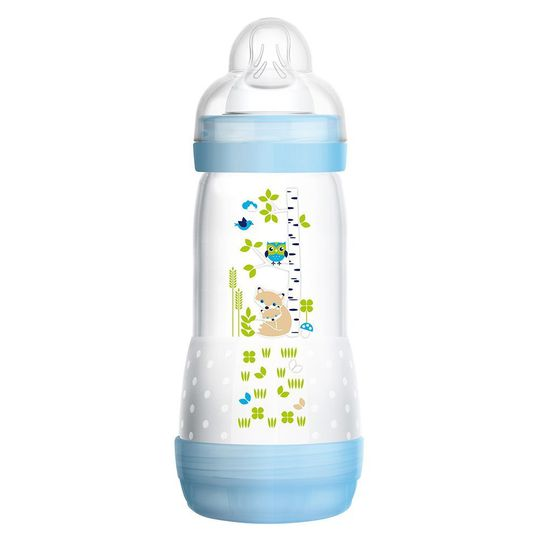 PP bottle Easy Start anti-colic 320 ml - silicone size 2 - for boys
