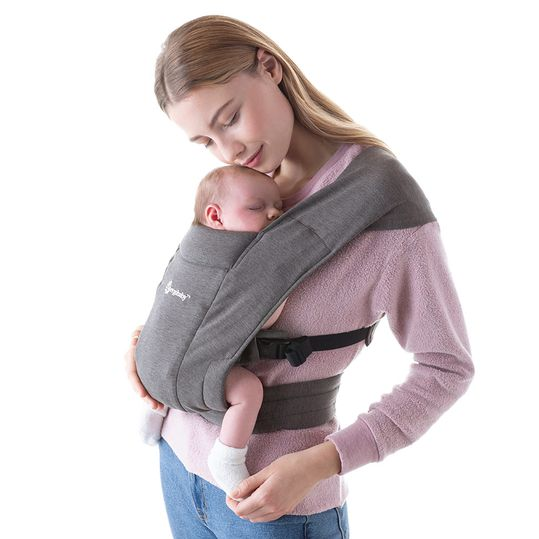 Babytrage Embrace für Neugeborene - Heather Grey