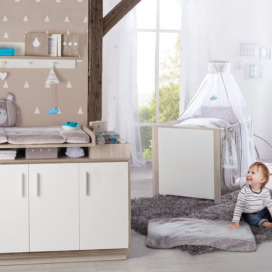 Economy set children's room Olaf with bed and changing table