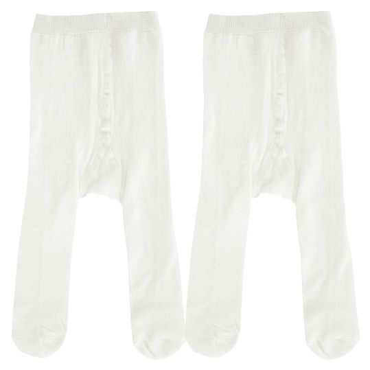 Pantyhose pack of 2 - Offwhite - Size 50 / 56
