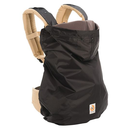 2 in 1 Winter Cover for Baby Carrier - Black