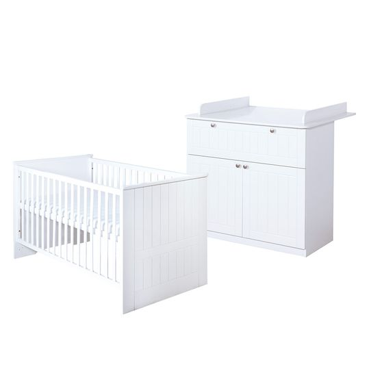 Economy set children's room Dreamworld 3 with bed, baby changing unit