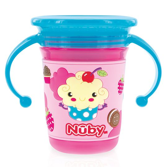 Trinklern-Becher 360° Wonder Cup 240 ml - 3D Motiv Candy