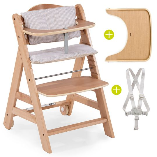 High Chair Beta Plus - Nature Check