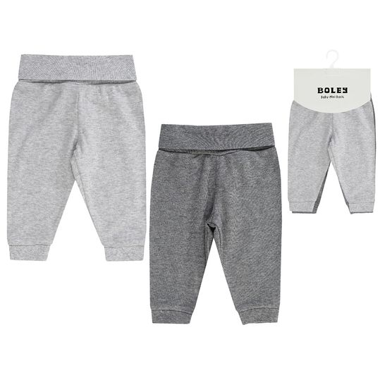 Jogginghose 2er Pack - Little Bear Grau - Gr. 50