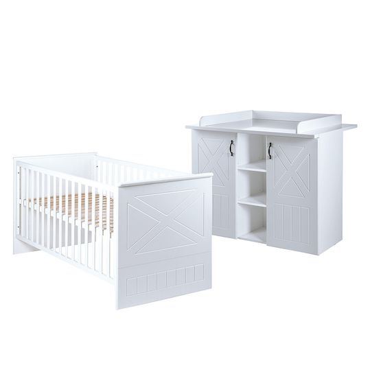 Economy set children's room Constantin with bed and changing table