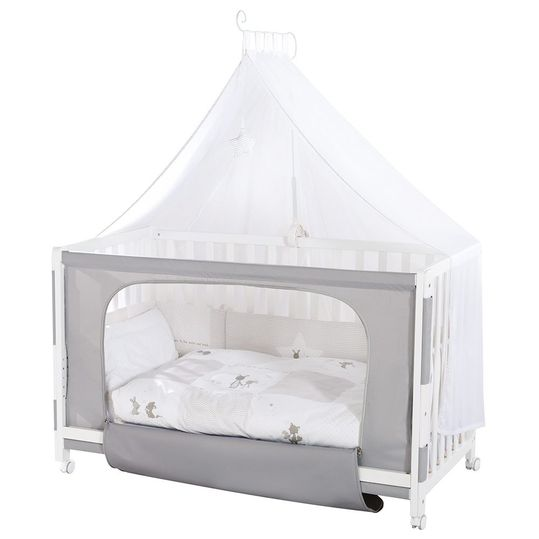 Room Bed White incl. accessories 60 x 120 cm - Fox & Bunny