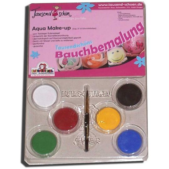 Belly Painting Set