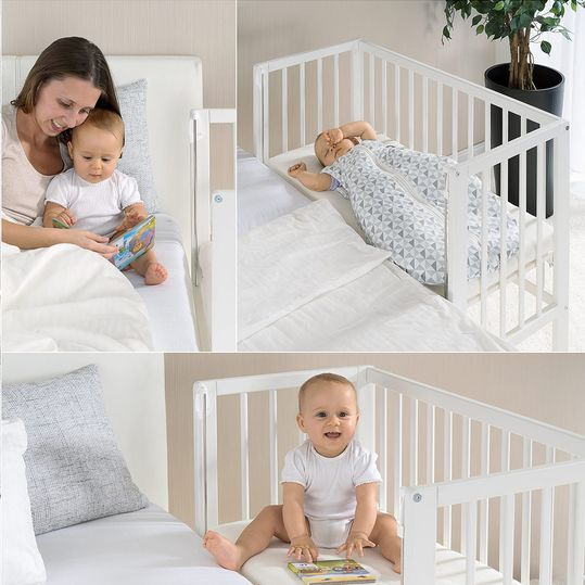 Fillikid Additional Bed Premium Vario 3in1 Also For Box Spring Beds White Babyartikel De
