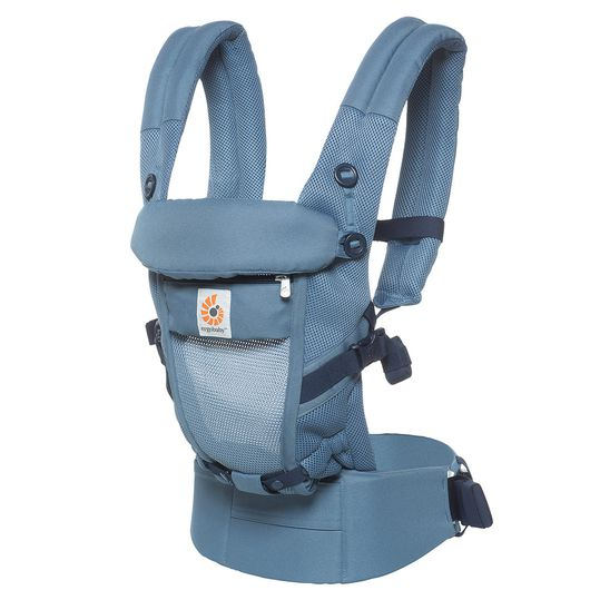 Babytrage Adapt Cool Air Mesh mit Lordosestütze - Oxford Blue