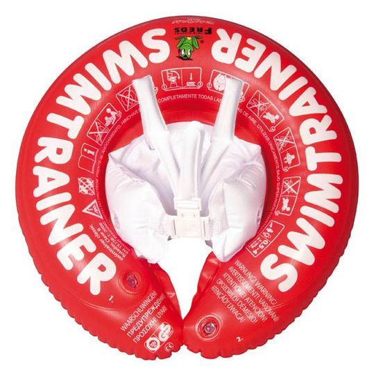 Swimtrainer Classic from 3 months - Red